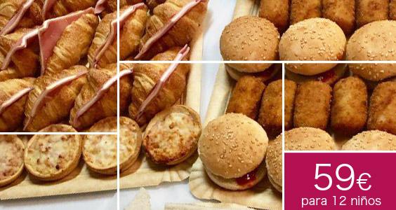 catering infantil a domicilio celebracion madrid