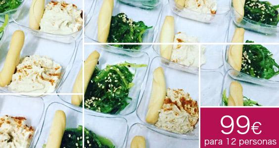 catering vegetariano a domicilio celebracion madrid